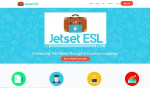 Jetset Website Splash Page